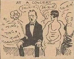 Offbeat News: 1923 Cartoon Warns About Pocket Telephones